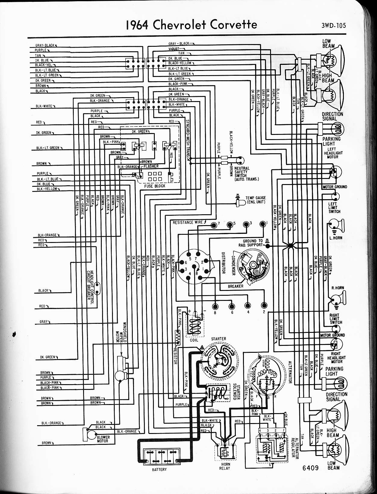 Wiring Diagram 1965 Chevy Impala Wiring Diagram View A View A Zaafran It