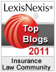 LexisNexis Insurance Law Community 2011 Top Blogs of the Year