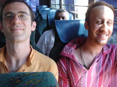 alex chaim on da bus