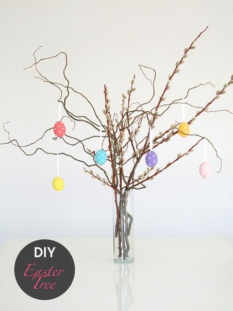 DIY: Easter Tree