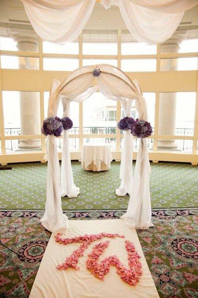 Wedding Arch Photo by Zev Fisher