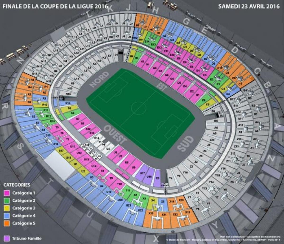 stade de france soccer map