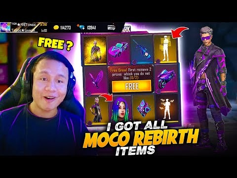 How to Get Moco Rebirth All Items For Free 🙄 New Emotes & Phantom Microzark Bundle in Faded Wheel 😱