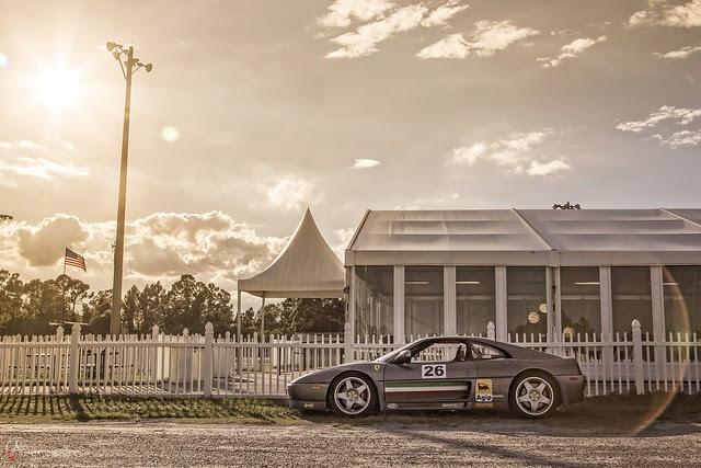 Sunshine and a Ferrari