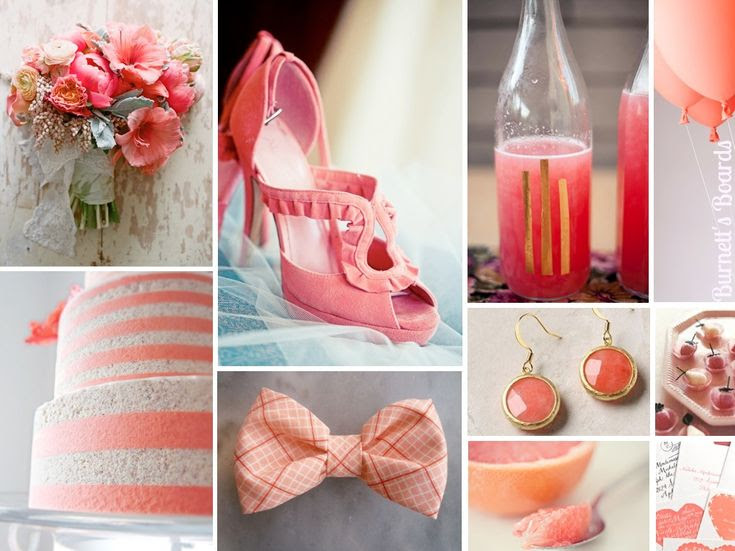 {grapefruit} it's like a pink wedding with an attitude! http://burnettsboards.com/2012/11/grapefruit/