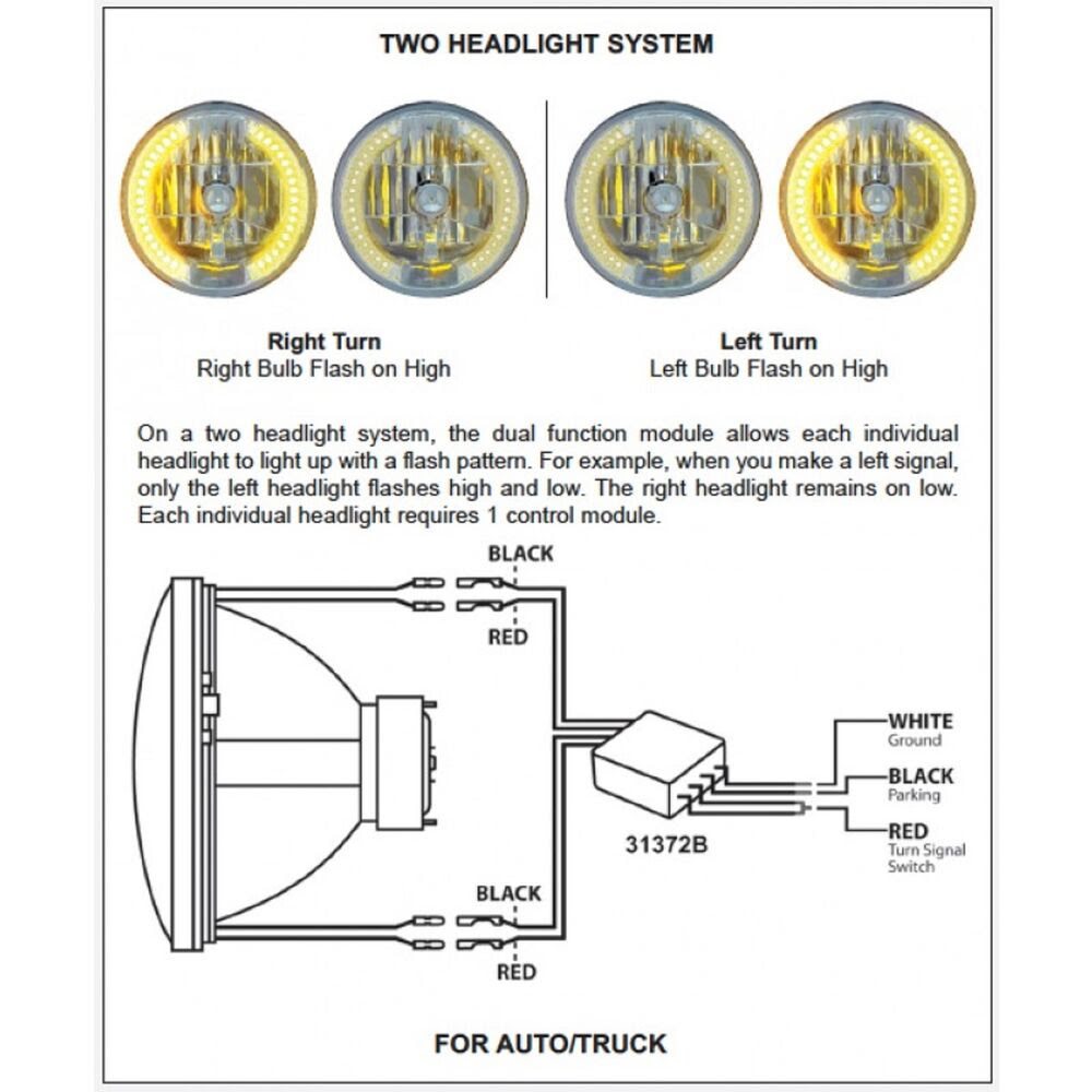 30 United Pacific Headlights Wiring Diagram