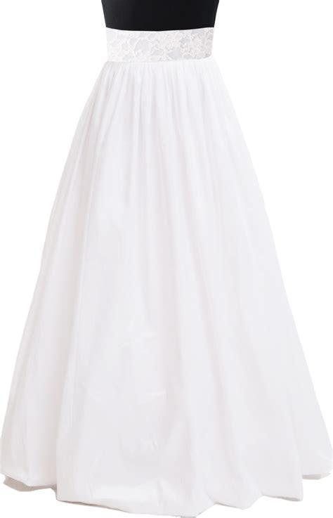 White Taffeta Maxi Skirt ? Elizabeth's Custom Skirts