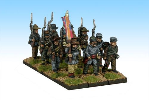 Ragged Rebs Marching