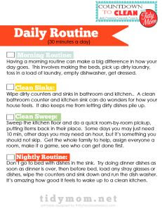1000+ images about Making a daily/weekly/monthly/yearly cleaning ...