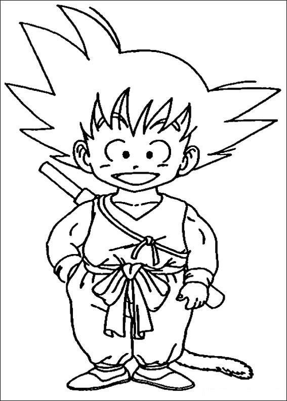 Dragon Ball Z Dibujos Para Imprimir Y Colorear