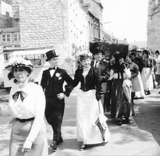Premier marché 1900 © ASBL Comité des fêtes de Marche