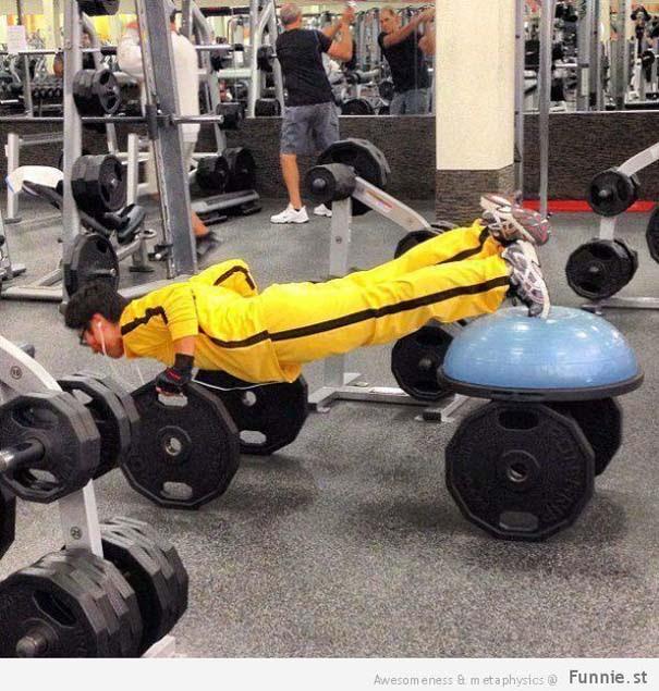 Απερίγραπτες στιγμές στο γυμναστήριο (13)