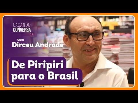 Caçando Conversa com o humorista Dirceu Andrade