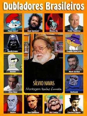 Silvio Navas ficou famoso por dublar dezenas de personagens (Foto: Reprodução / Facebook)