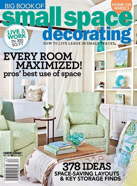 small space decorating magazine home design