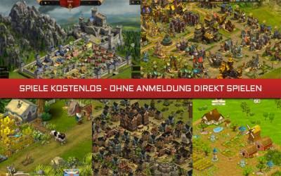 Spielen Online Kostenlos Ohne Anmeldung