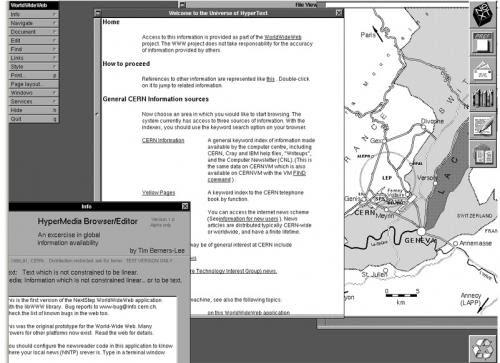 Hace ya 20 años que apareció la primera página web
