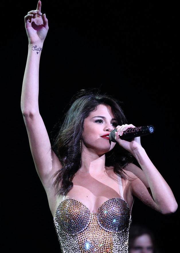 Selena Gomez Tattoo Story Find Out More