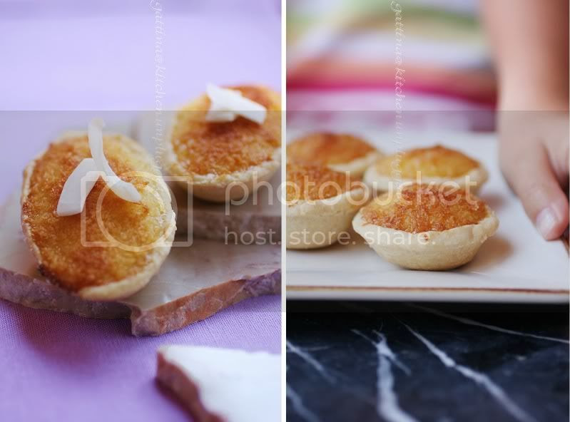 HK coconut tart