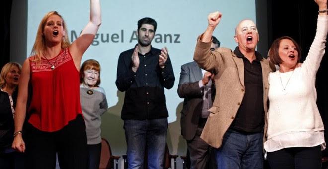 Zaida Cantera, Odón Elorza apoyan la plataforma del PSOE madrileño de 'Primarias y Congreso Ya' / EFE