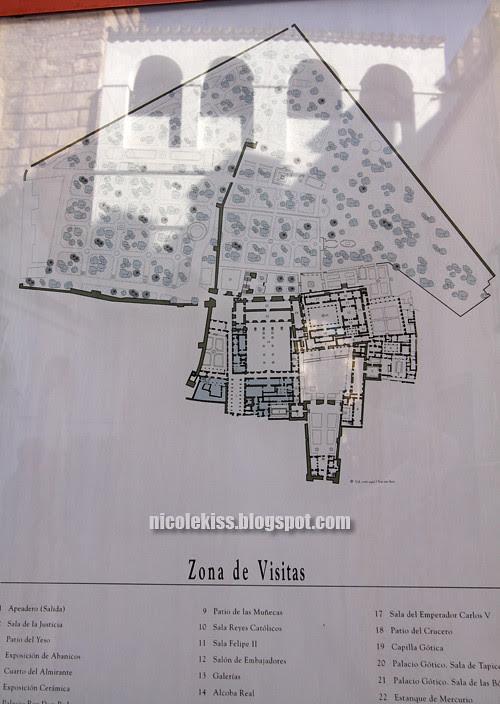floorplan of  Real Alcázar