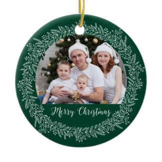 Christmas Wreath Holiday Ornament