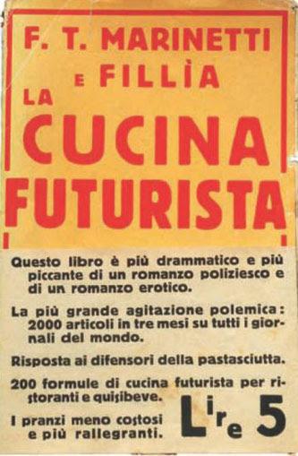 Risultati immagini per manifesto della cucina futurista