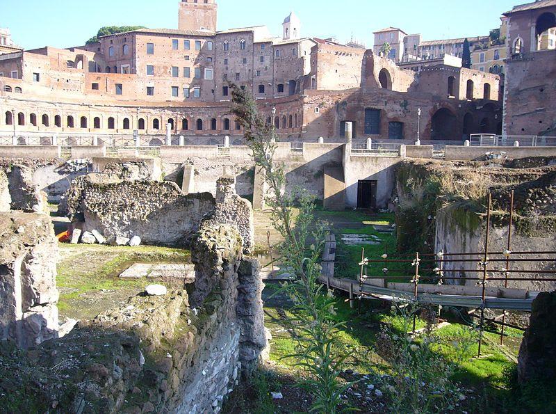 Monti - via Alexandrina - stiftelser rivs byggnader 1110038.JPG