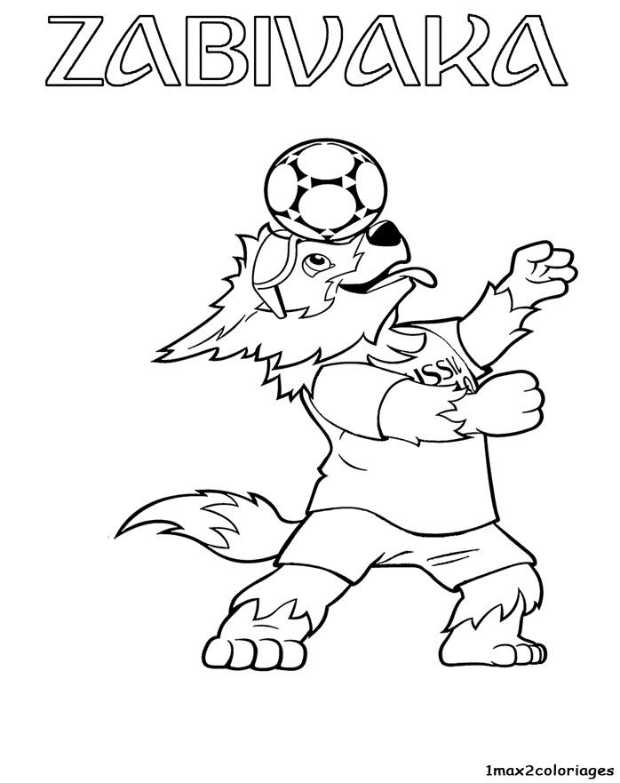 Zabivaka La Mascotte Officielle De La Coupe Du Monde De La Fifa