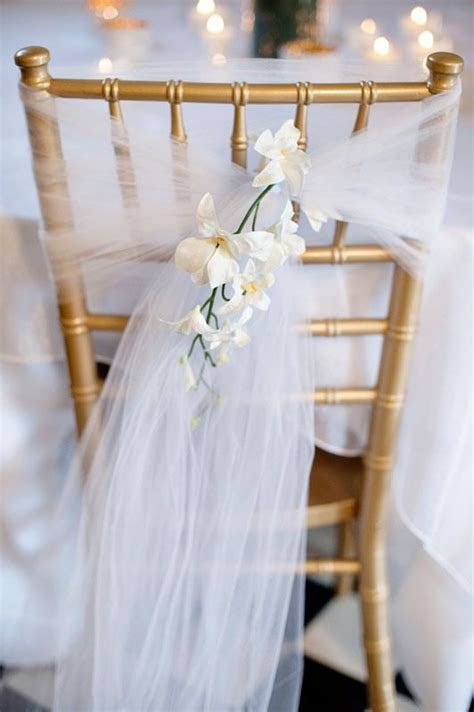 White Tulle   Cheap Wedding Decorations   Wedding
