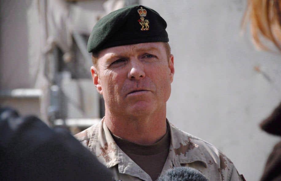 Le brigadier-général Shane Brennan, commandant de la Force opérationnelle interarmées déployé au Koweït