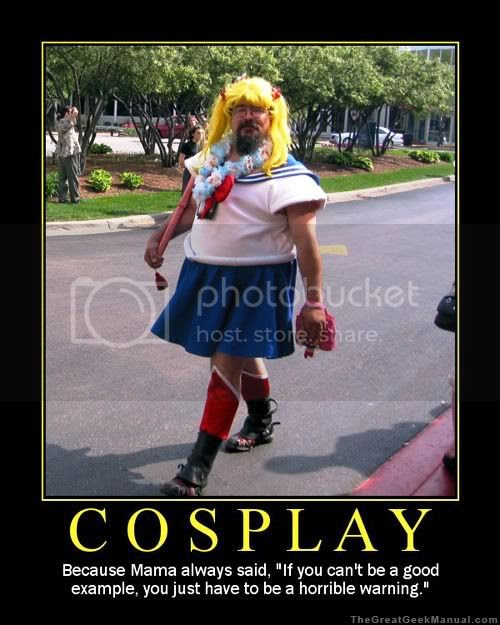 Japanese Cosplay Costume, Sailormoon costume, Failed Cosplay