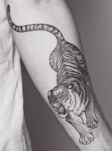 pin  gentry davis  tattoo piercings   tiger