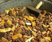 FIRESIDE POTPOURRI - Red hot cinnamon scent,  comes with bottle of refresher oil - NHWoodscreations