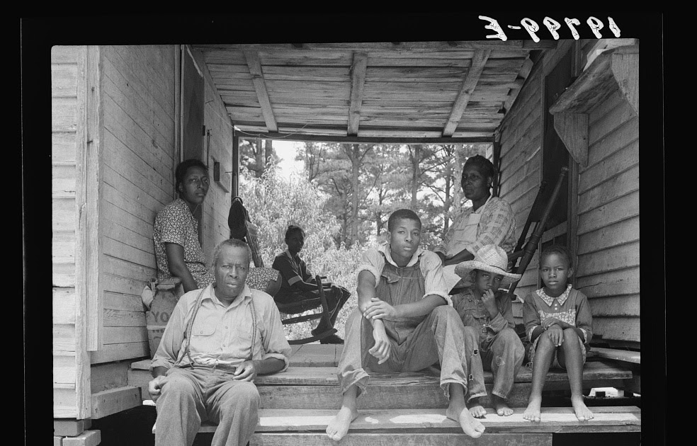 Secondat Sharecropper Families Of The 1930s