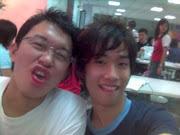 Kien Lin and me