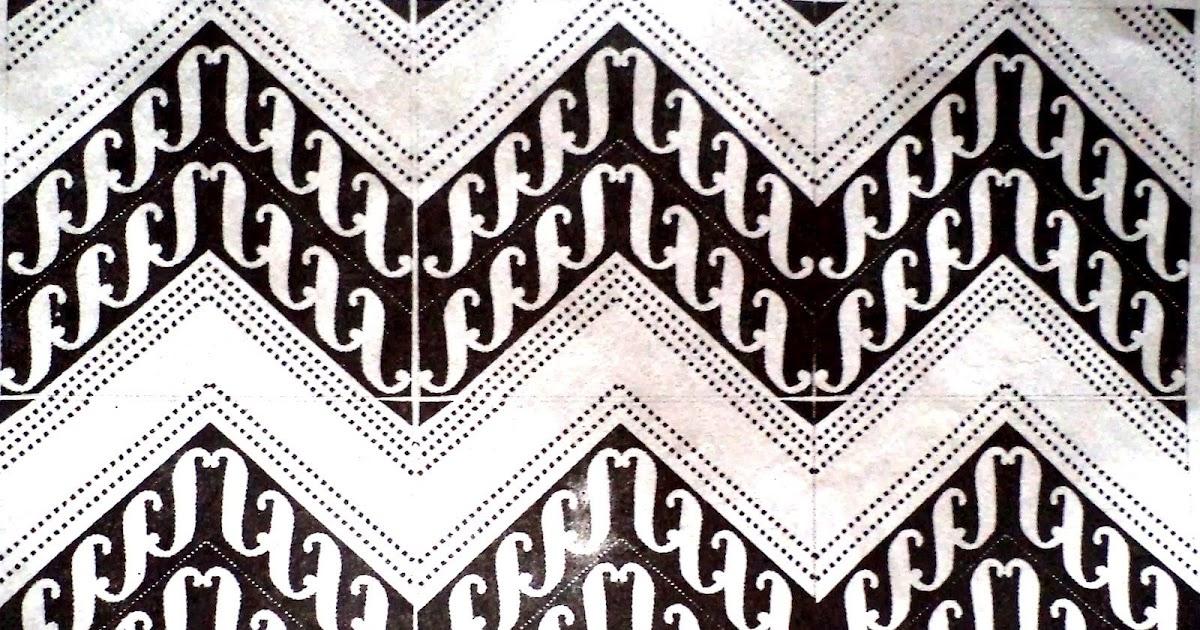 Motif Batik Geometris Yang Mudah - Batik Indonesia