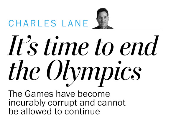 Opinion | Stop the Olympics