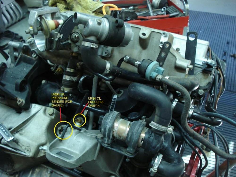 2005 Audi A4 Oil Pressure Sensor Location