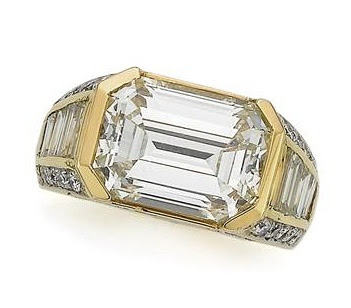 Gold and Diamond Ring, Cartier..