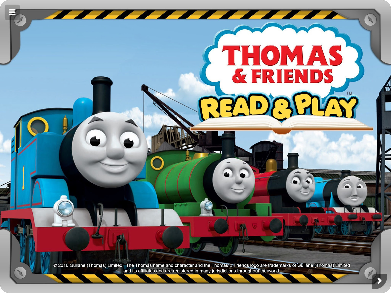 Thomas Friends Tm Read Play Learning App E Book Launches