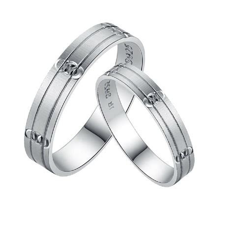 His and Hers Rings Certified Sterling Silver Promise Rings