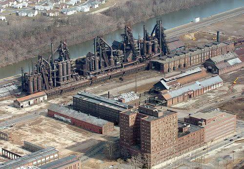 Bethlehem Steel in Bethlehem, Pennsylvania.
