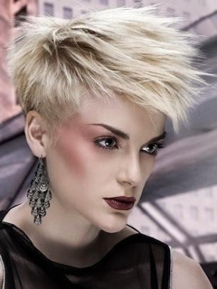 Glamurous short hair look