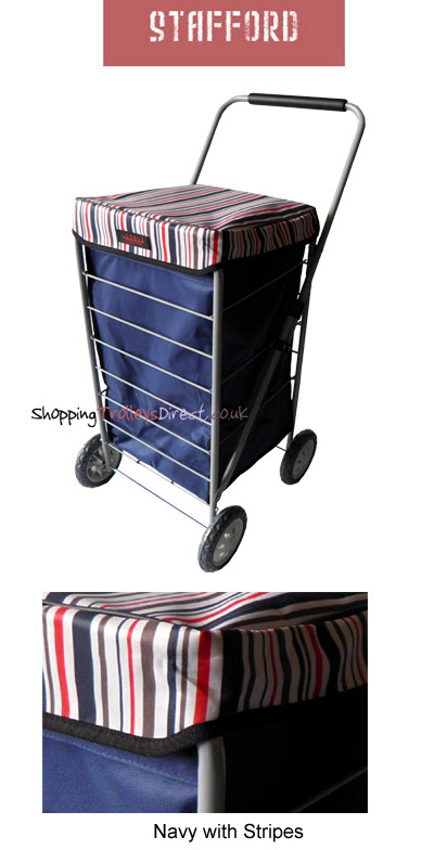 Stafford 4 Wheel Shopping Trolley