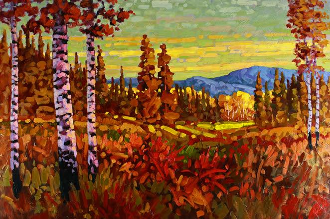 Canadian Artists Landscape Paintings