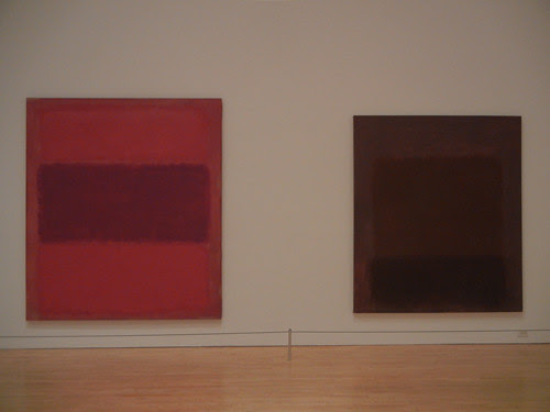 DSCN8772 _ No. 301 (Reds and Violet over Red_Red and Blue over Red) [Red and Blue over Red], 1959 & Purple Brown, 1957