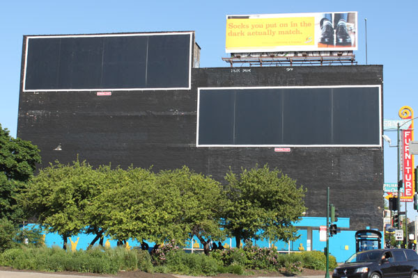 New Giant, Empty Billboard Installed in Logan Square - avoision ...