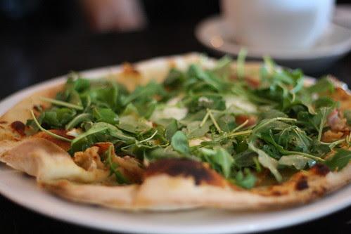 Pancetta Breakfast Pizza