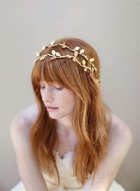 12 Greek Style Headbands For Wedding Day ? Unique Up Do